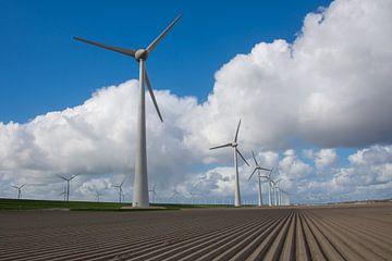 Windmolens in Holland van Wim Kanis