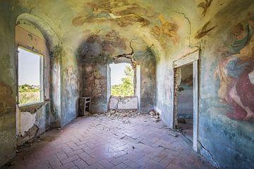 verlassene rissige Wände von Kristof Ven