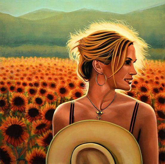 Julia Roberts Schilderij