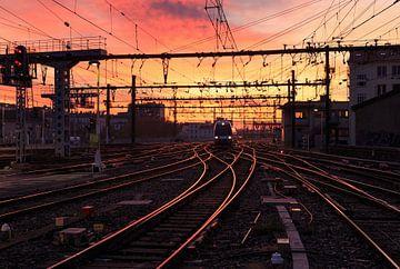 Gare de Lyon-Perrache von Sander van der Werf
