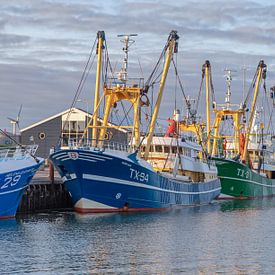 Texel Kutterflotte. von Justin Sinner Pictures ( Fotograaf op Texel)