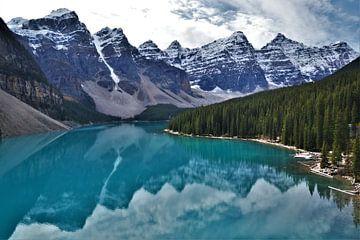 Moränensee - Kanada von Egbert van Ede