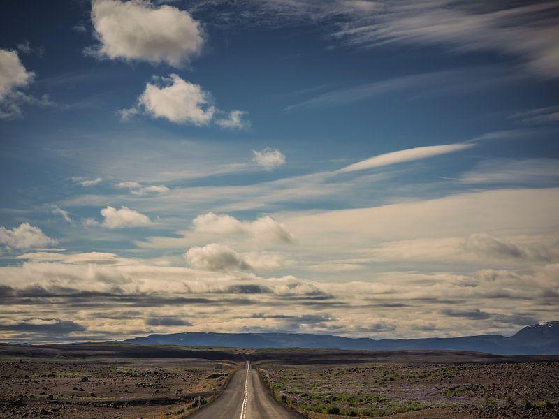 The road to Myvatn van Lex Schulte