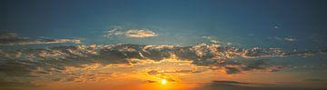 Zonsondergang van Angelo van der Klift