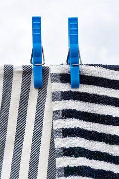 Handtücher auf der Linie von Harry Wedzinga
