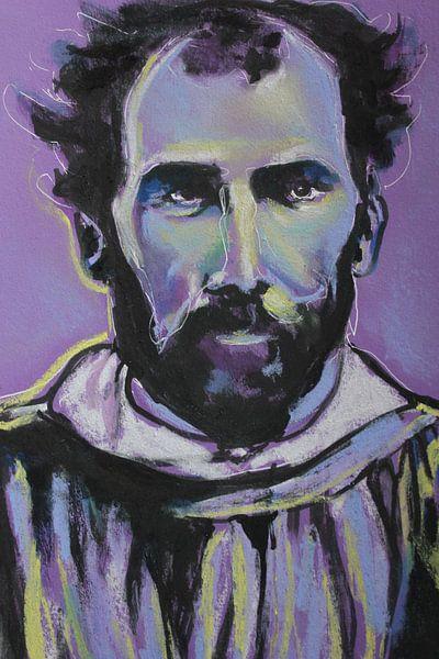 Gustav Klimt von Helia Tayebi Art