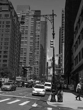 50 th street, New York van Maxpix, creatieve fotografie