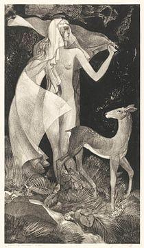 An der Quelle , Adriaan van 't Hoff (1908 -1939) von Atelier Liesjes