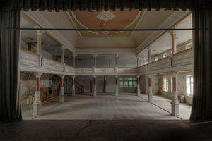 verlassene Tanzhalle