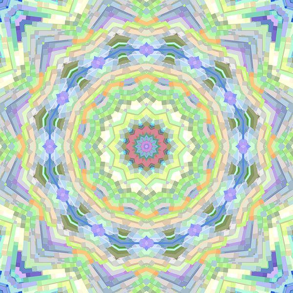 Mandala-stijl 36 van Marion Tenbergen