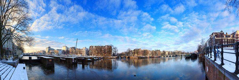 Amstel 180 winter panorama van Dennis van de Water