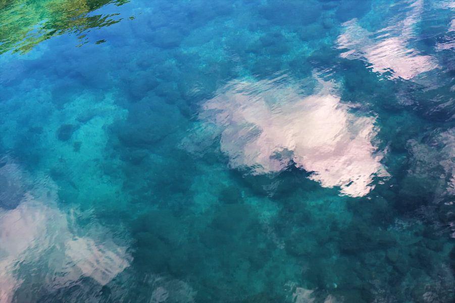 Tropisch Water Reflecties van Jan Brons