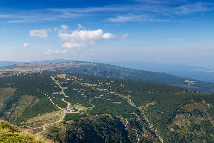 KARKONOSZE View from the summit of ?nie?ka