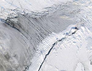 Noorwegen vanuit de ruimte