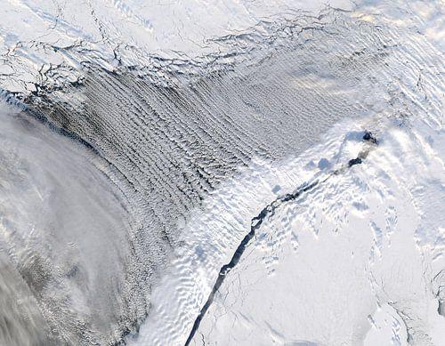 Noorwegen vanuit de ruimte van