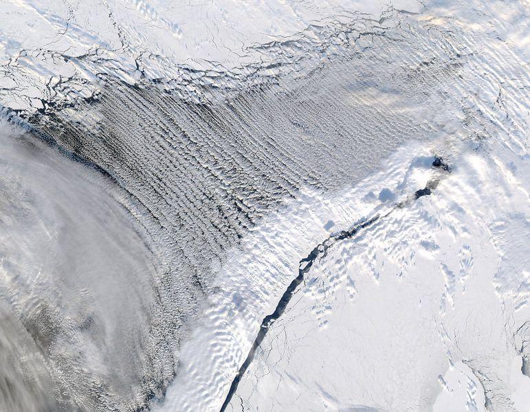 Noorwegen vanuit de ruimte van Moondancer .
