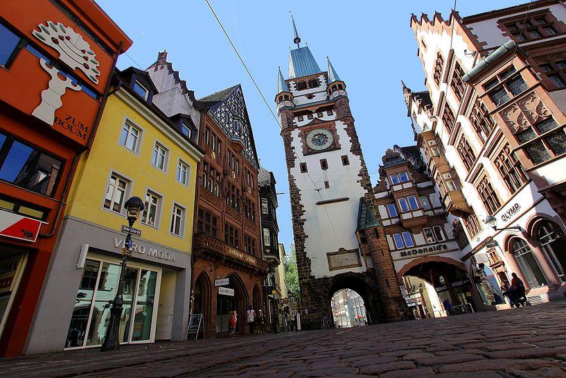 Stadtkern Freiburg van Patrick Lohmüller
