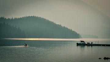 Lake Minnewanka sur Henriëtte Wanders