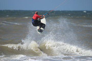 Kitesurfen van Rob Hansum