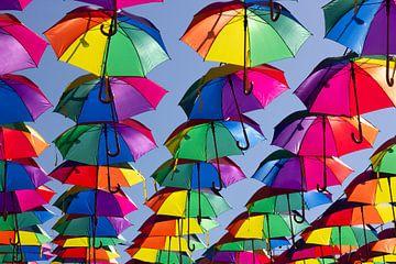 Umbrellas van Bas van der Burgt