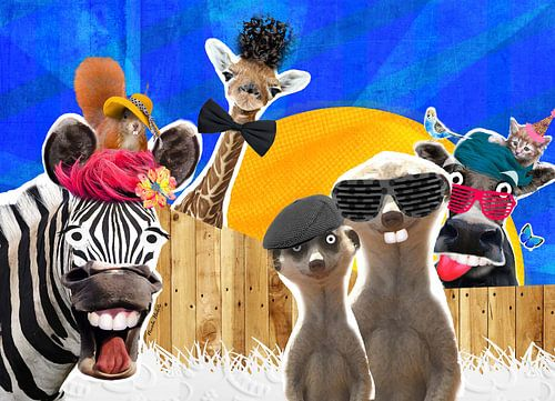 dierenrijk von Nicole Roozendaal