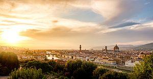Florence - Zonsondergang