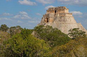 Uxmal maya tempel complex van Wilco Speksnijder