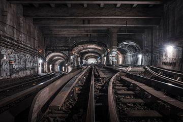 Le monde souterrain sur Jeroen van Dam