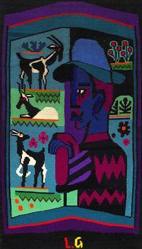 De herder, ERNST LUDWIG KIRCHNER, 1928-1929 van Atelier Liesjes