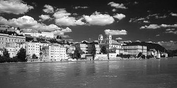 Passau, Bayern, Deutschland 2 schwarzweiß von Jörg Hausmann
