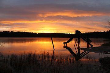 Sunset van Jasmijn Peele
