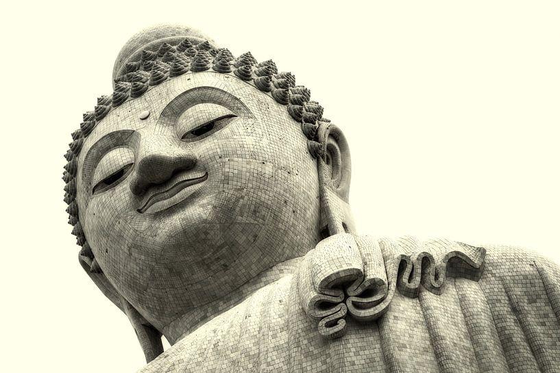 Grote Boeddha van Phuket van Keesnan Dogger Fotografie