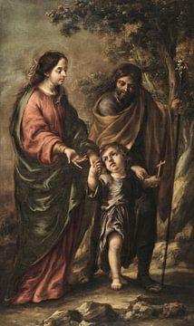 Die Heilige Familie, Juan de Valdés Leal