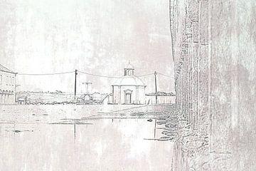 Kleine kapel in Portugal van Els Broers