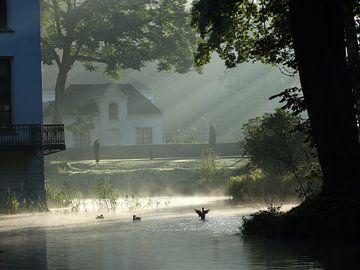 Mist en zonnestralen sur El'amour Fotografie