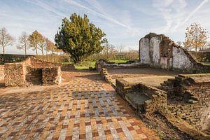 Restanten van een oude boerderij in buurtschap Miste nabij Winterswijk