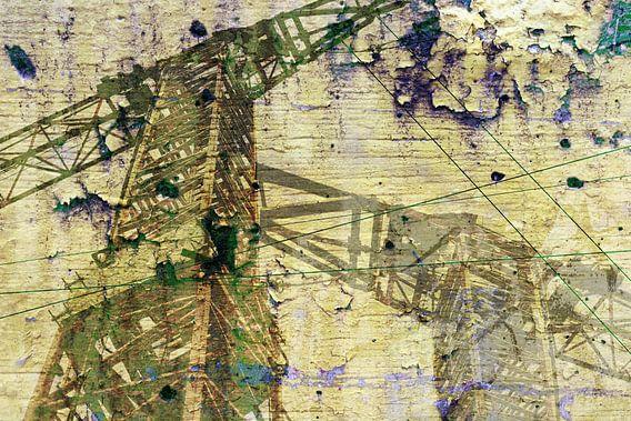 Krahn mit texture van Rosi Lorz