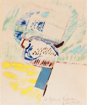 KURT SCHWITTERS, An Hjalmar Gabrielson [3]. Merzzeichnung, 1947
