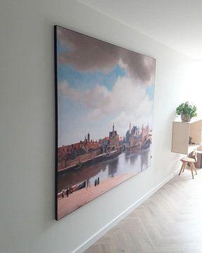 Kundenfoto: Ansicht von Delft von Vermeer