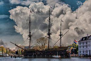 Wolken, Amsterdam, Niederlande