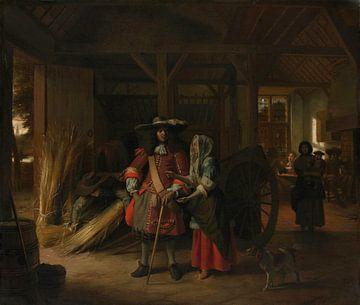 Bezahlung der Hostess, Pieter de Hooch