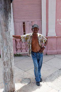 Cubain avec casquette C*ba