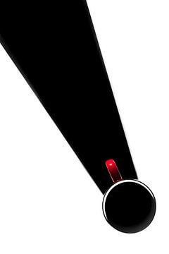 serie Simply Red, titel Stropdas (rode koffiekop) von Kristian Hoekman