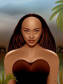 Afrikaanse Natuur van Ton van Hummel (Alias HUVANTO)
