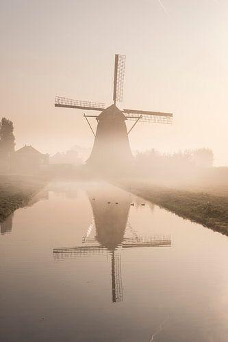 Molen in de Mist. van