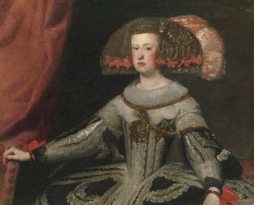 Mariana von Österreich (1634-1696), Königin von Spanien, Diego Velázquez
