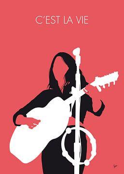 No282 MY Emmylou Harris Minimal Music poster van Chungkong Art