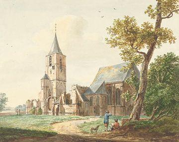 Die Kirche in Warmond, Pieter Gerardus van Os