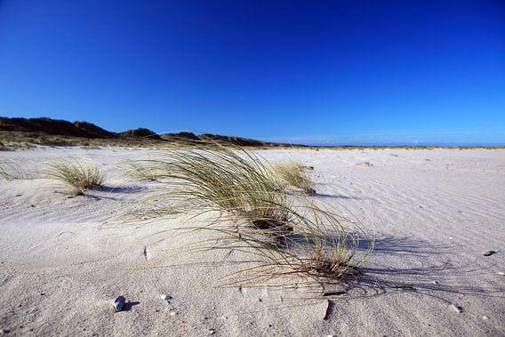 Op het strand op Sylt