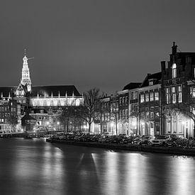 Haarlem in zwart-wit van Harro Jansz